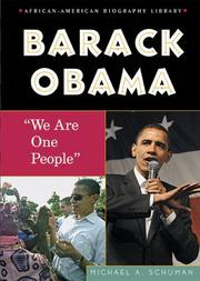 Cover of: Barack Obama | Michael A. Schuman
