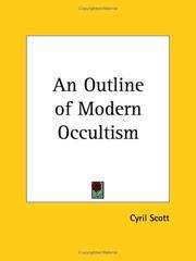 Cover of: An outline of modern occultism
