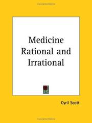 Cover of: Medicine Rational and Irrational