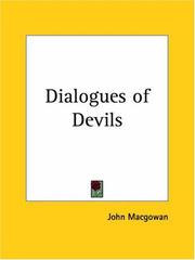 Cover of: The dialogues of devils