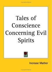 Cover of: Tales of Conscience Concerning Evil Spirits