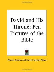 Cover of: David and His Throne | Harriet Beecher Stowe