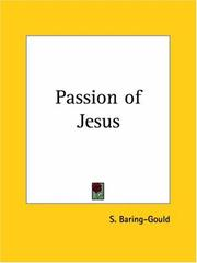 Cover of: Passion of Jesus