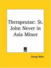 Cover of: Therapeutae | George Reber