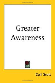 Cover of: Greater Awareness