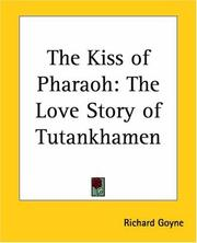 Cover of: The kiss of Pharaoh