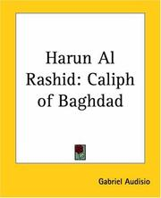 Cover of: Harun Al Rashid
