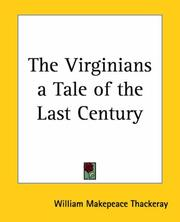 Cover of: The Virginians, a tale of the last century