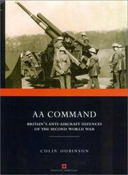Cover of: AA command | Colin Dobinson