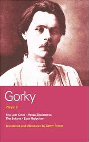 Cover of: Plays: 2 | Maksim Gorky