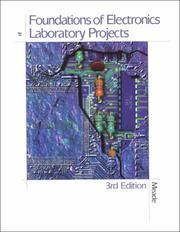 Cover of: Foundation of Electronics Lab Project | Russell L. Meade