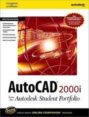 Cover of: Autocad 2000i | Autodesk Press