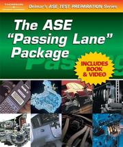Cover of: ASE 'Passing Lane' Package A5 (Delmar's Ase Test Preparation Series)