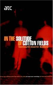 Cover of: In The Solitude Of Cotton Fields