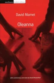 Cover of: Oleanna