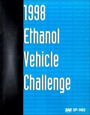 Cover of: 1998 Ethanol Vehicle Challenge (Special Publications) | Society of Automotive Engineers.