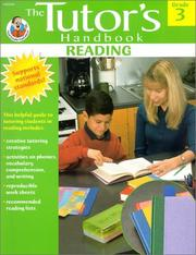 Cover of: Reading Grade 3 (Tutor's Handbook)