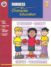 Cover of: Fairness Grade 3 (Character Education (School Specialty)) | Michelle Thompson