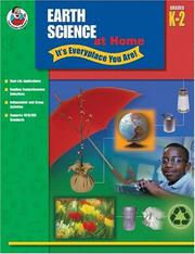 Cover of: Earth Science at Home - It