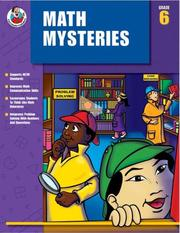Cover of: Math Mysteries, Grade 6 | School Specialty Publishing