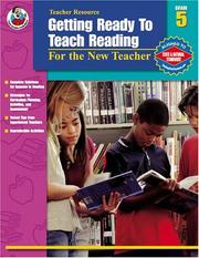 Cover of: Getting Ready to Teach Reading, Grade 5 | Anne Vander Woude