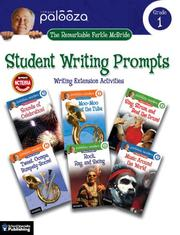 Cover of: The Remarkable Farkle McBride Student Writing Prompts, Grade 1 |