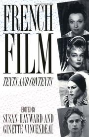 Cover of: French film, texts and contexts |