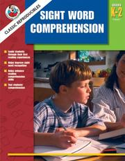 Cover of: Sight Word Comprehension, Grades K-2 (Frank Schaffer Classic Reproducibles) | School Specialty Publishing