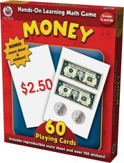 Cover of: Hands-On Learning Money Card Game (Hands-On Learning Card Games) | School Specialty Publishing