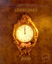 Cover of: Addresses 2000