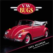 Cover of: VW Bugs 2004 12-month Wall Calendar