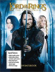 Cover of: The Two Towers 2004 Datebook Calendar (The Lord of the Rings) | Cedco