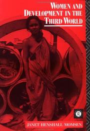 Cover of: Women and development in the Third World