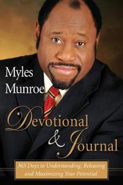 Cover of: Myles Munroe 365 Day Devotional | Dr. Myles Munroe