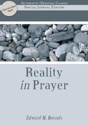 Cover of: The Reality of Prayer