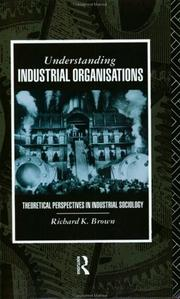 Cover of: Understanding Industrial Organisations
