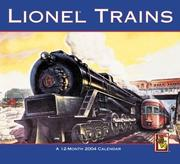 Cover of: Lionel Trains 2004 Calendar |