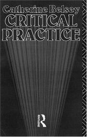 Cover of: Critical Practice (New Accents)