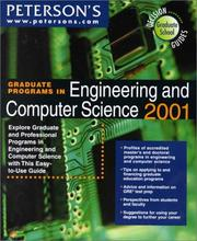 Cover of: Peterson's Graduate Programs in Engineering and Computer Science 2001 | Peterson's