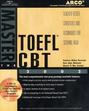 Cover of: Master the TOEFL CBT 2002 w/CD-ROM