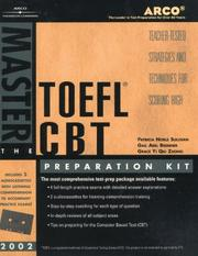 Cover of: Master the TOEFL CBT 2002 Prep Kit (Master the Toefl) | Arco