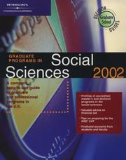 DecisionGd:GradPrgSocScience02 (Graduate Programs in Social Sciences, 2002)