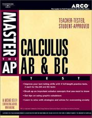 Cover of: Master the Ap Calculus Ab & Bc Test | Arco Publishing.
