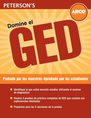 Cover of: Domine el GED, 2nd Edition (Ged En Español) | Peterson's