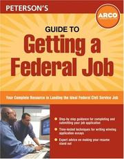 Cover of: Guide to Getting a Federal Job | Peterson