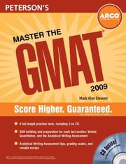 Cover of: Master the GMAT (CD) 2009 (Master the Gmat)