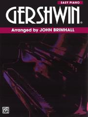 Cover of: Gershwin / Easy Piano