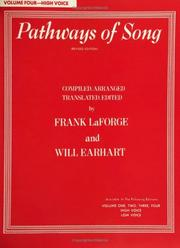 Cover of: Pathways of Songs |
