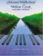 Cover of: Marian McPartland / Willow Creek and Other Ballads |