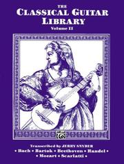 Cover of: Classical Guitar Library V2